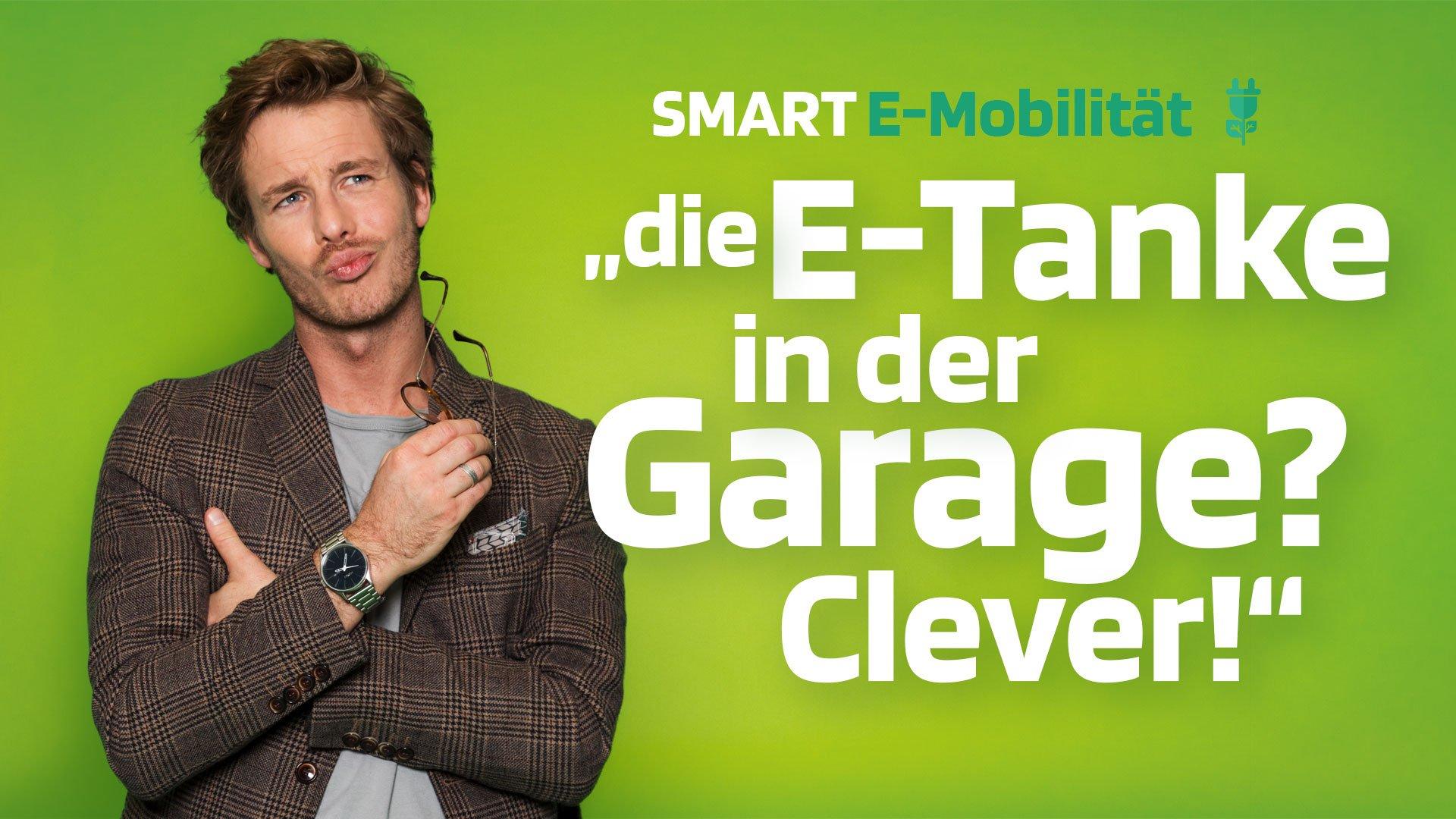 Paul sagt zu SMART E-Mobilität: Mein Elektroauto zuhause laden? - Clever!